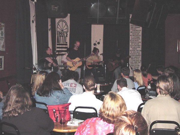 The original 'Pottsville' gig at Eddie's Attic.  One of my all-time favorite shows.