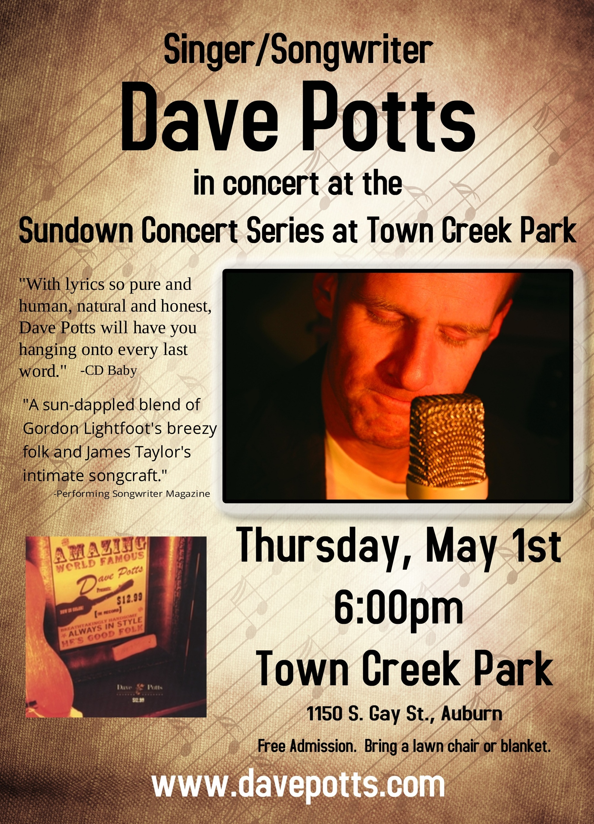 town creek 2014 flyer